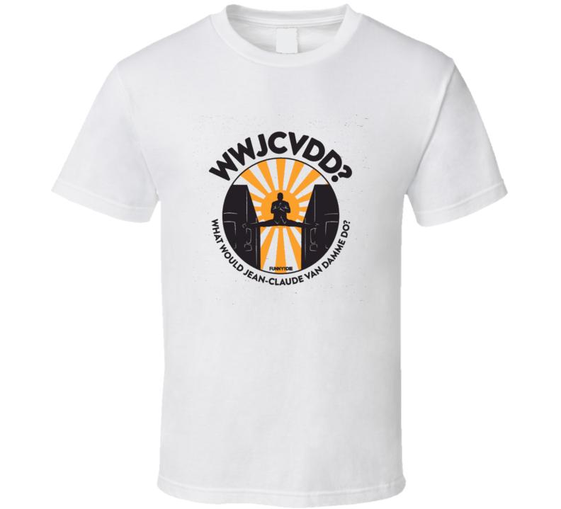 WWJCVDD Jean Claude Van Dame Volvo split t-shirt martial arts action movie star t-shirts