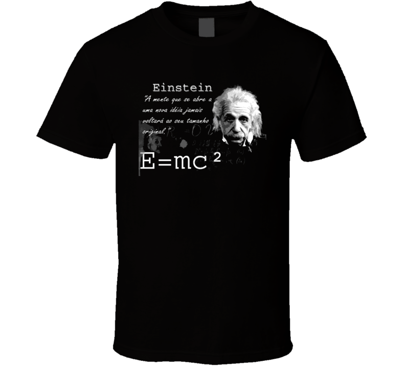 Einstein With Spanish Quote Retro Science Physics T Shirt