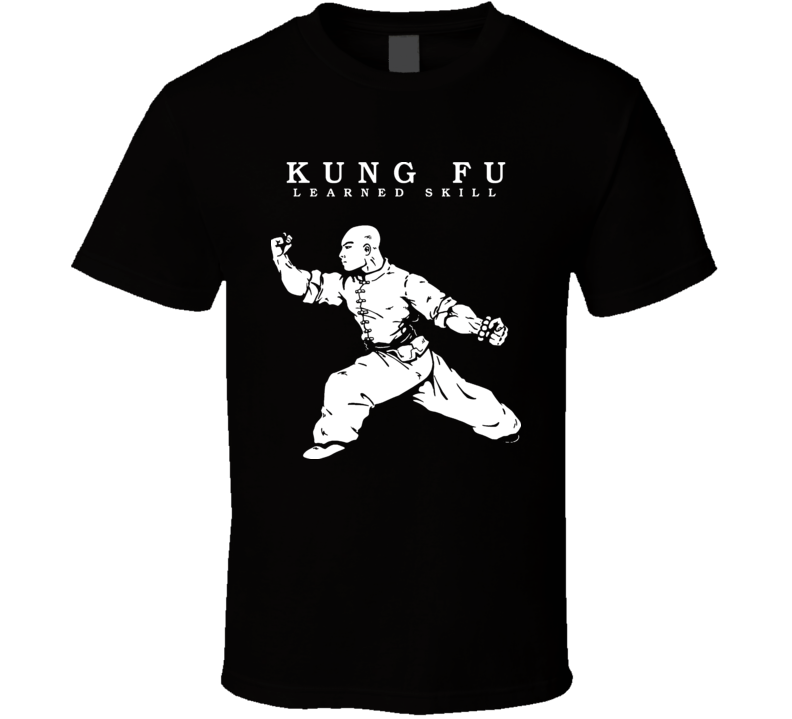 Kung Fu Chinese Martial Arts Technique MMA Fighting T Shirt