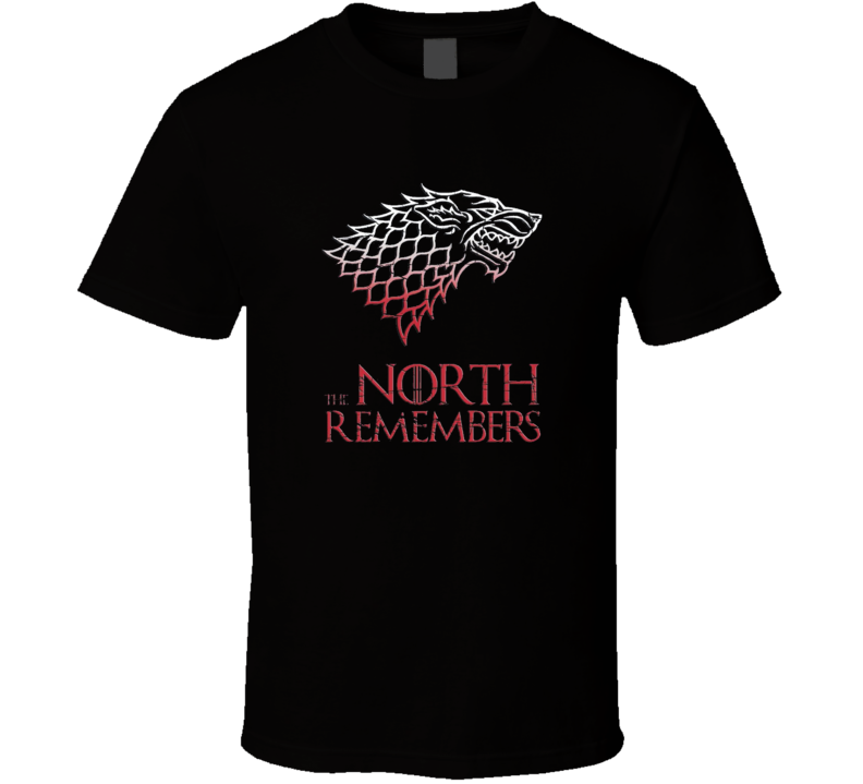 Game of Thrones The North Remembers t-shirt House of Stark Seven Kingdoms