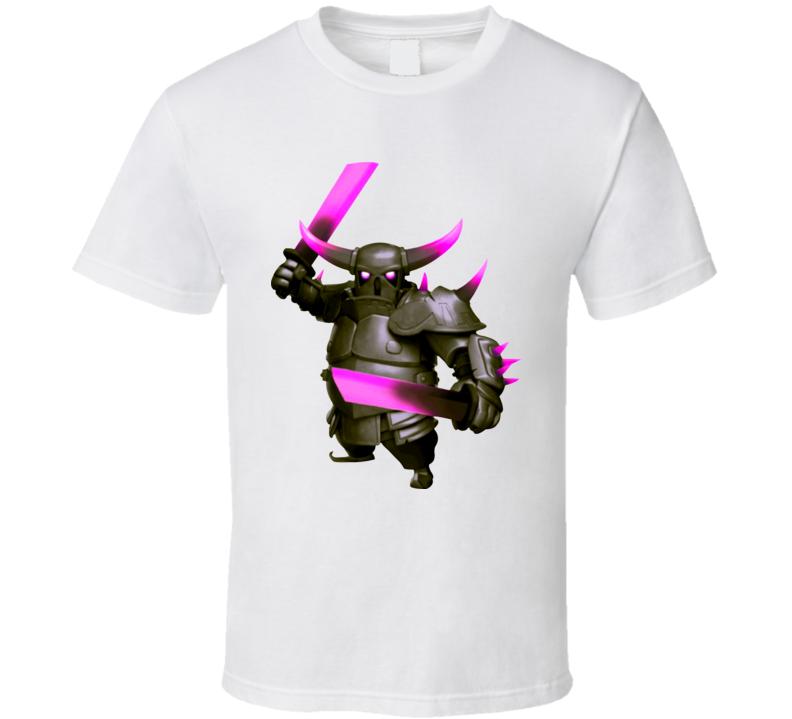 Clash Of Clans PEKKA App Game T Shirt