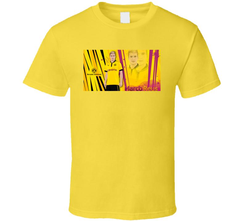 Marco Reus BVD German Soccer Player Borussia Dortmund T Shirt