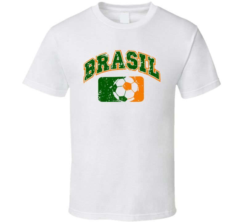 Brazil World Cup Soccer Country T Shirt