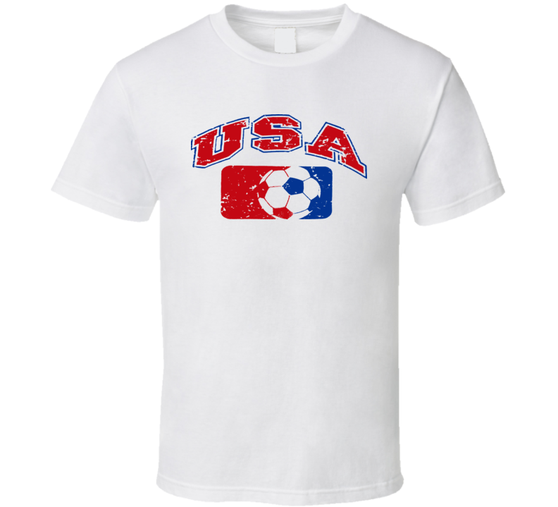 USA World Cup Soccer Country T Shirt