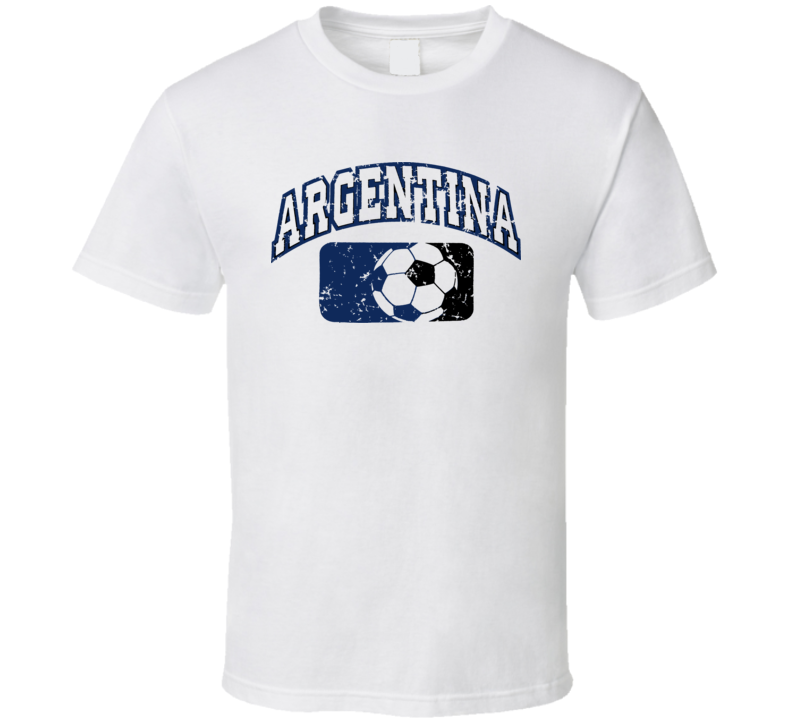 Argentina World Cup Soccer Country T Shirt