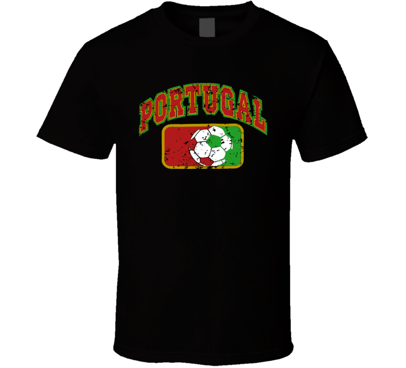 Portugal World Cup Soccer Country T Shirt