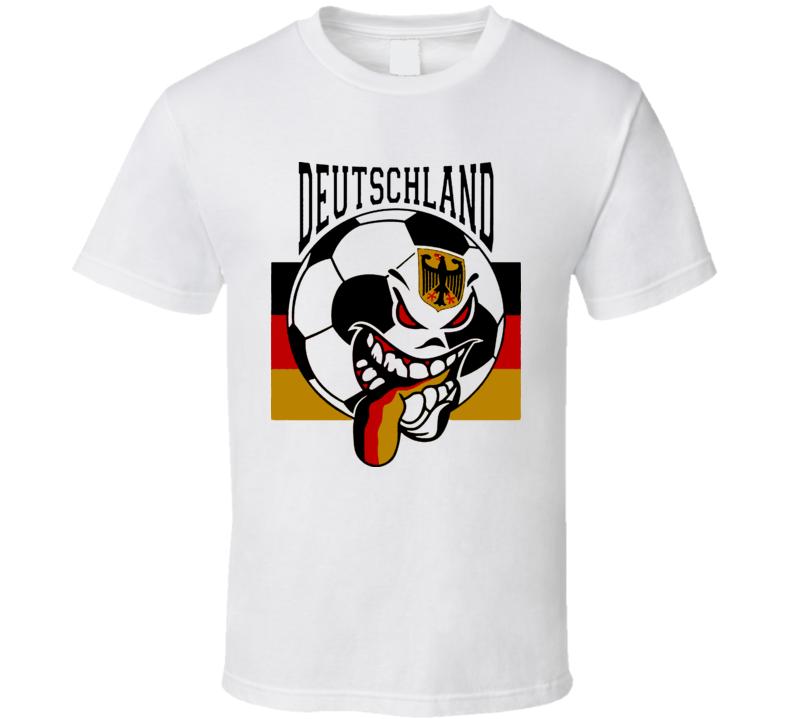 Germany Futbol Soccer Fan Mondial Deutschland T Shirt