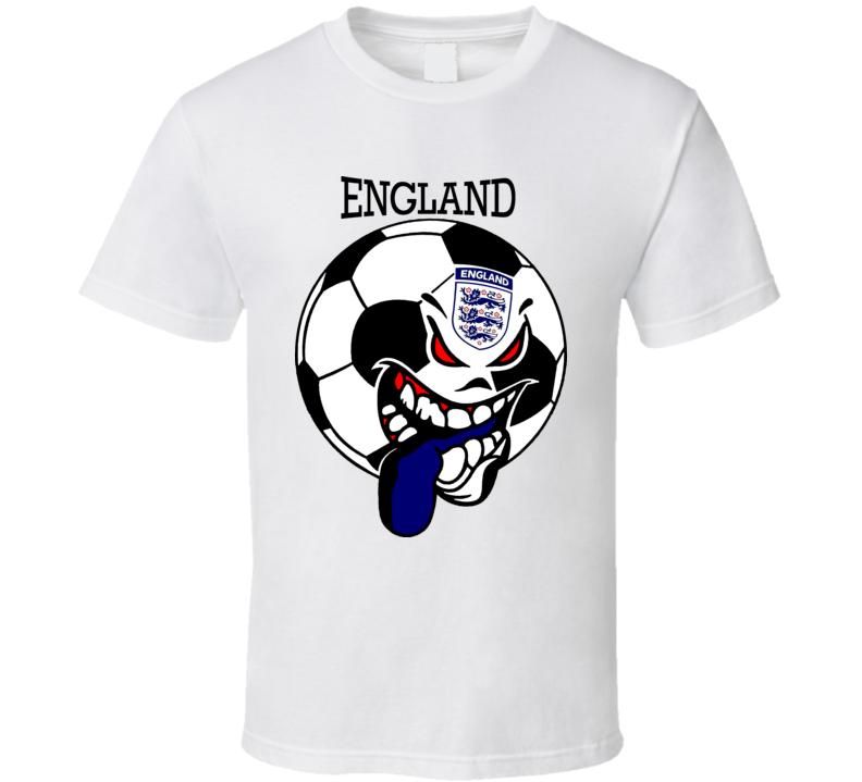 England Futbol Soccer Fan T Shirt