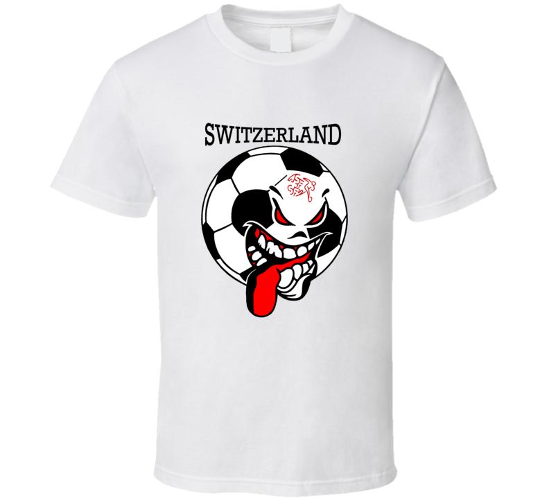 Switzerland Futbol Soccer Fan T Shirt