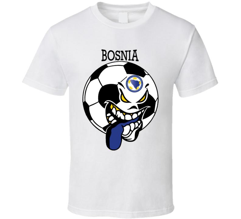 Bosnia And Herzegovina Futbol Soccer Fan T Shirt