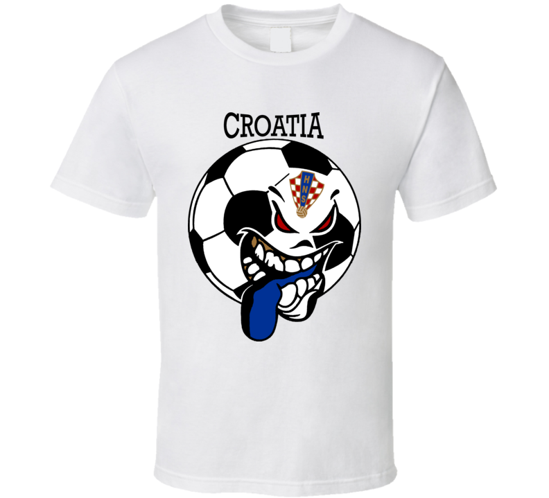 Croatia Futbol Soccer Fan T Shirt