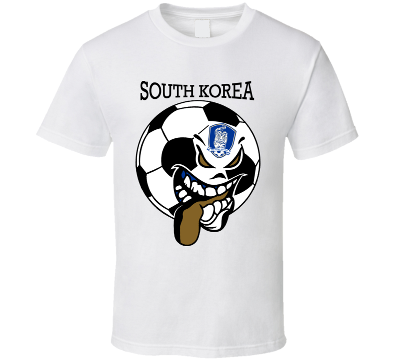 South Korea Futbol Soccer Fan T Shirt