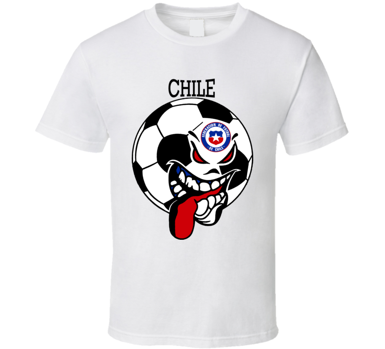 Chile Futbol Soccer Fan T Shirt