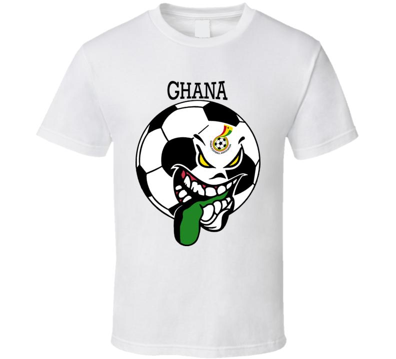 Ghana Futbol Soccer Fan T Shirt