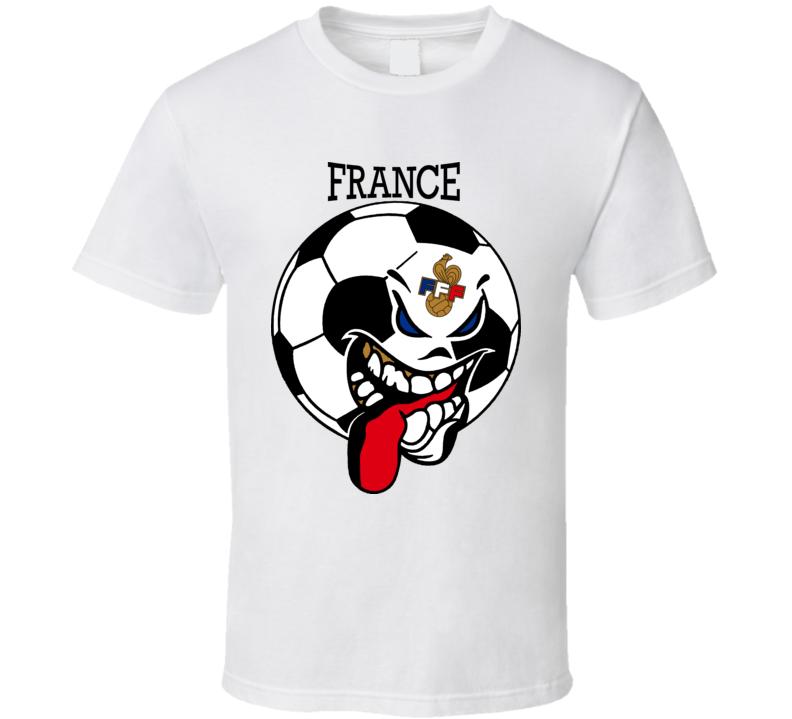 France Futbol Soccer Fan T Shirt