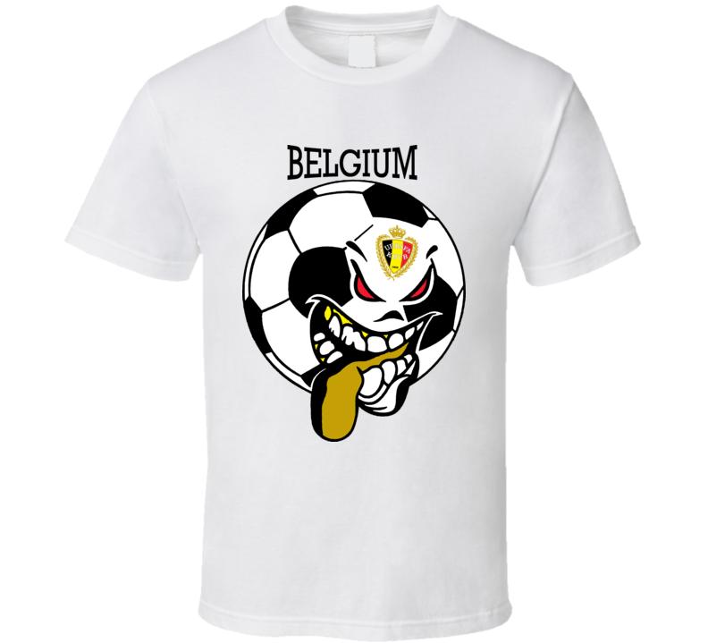 Belgium Futbol Soccer Fan T Shirt