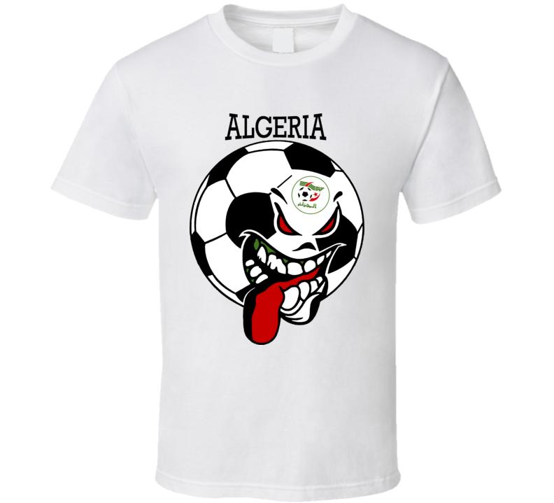 Algeria Futbol Soccer Fan T Shirt