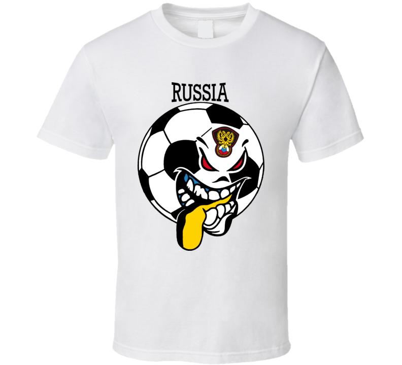 Russian Futbol Soccer Fan T Shirt