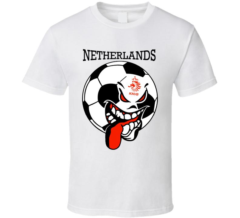 Netherlands Futbol Soccer Fan Mondial Landsholdet T Shirt