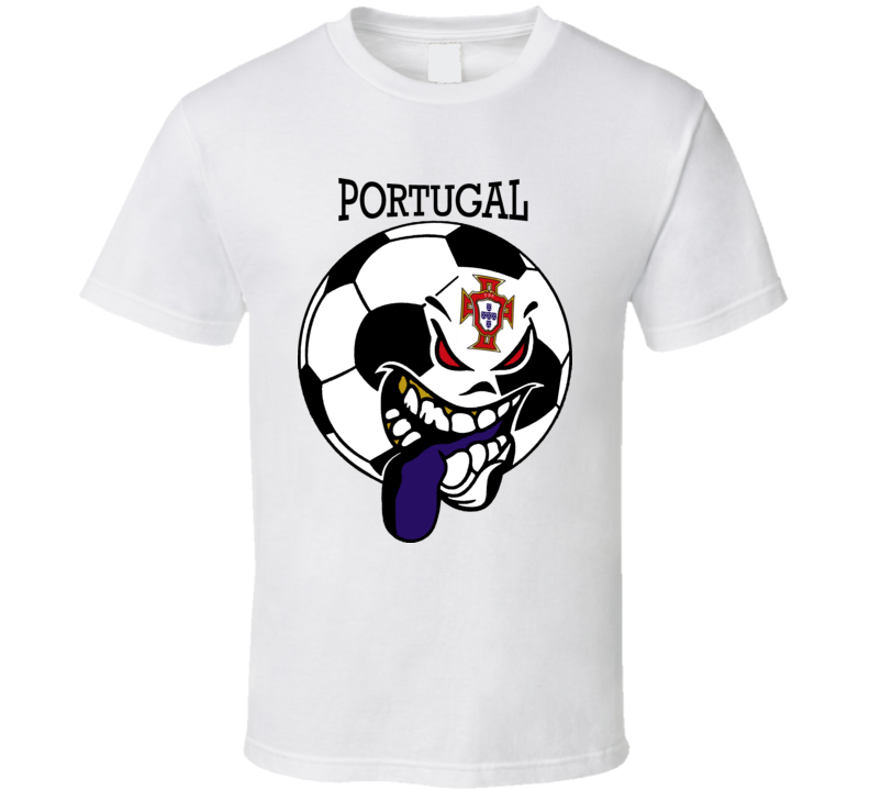 Portugal Futbol Soccer Fan Mondial Selecao T Shirt