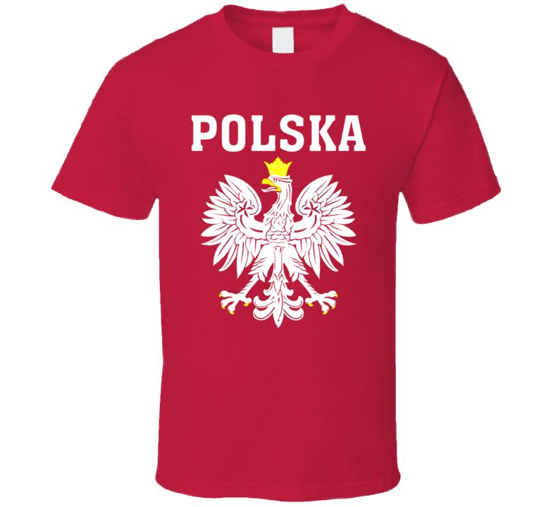 Poland Soccer National Team Fan Futbol Shirts Polska T Shirt