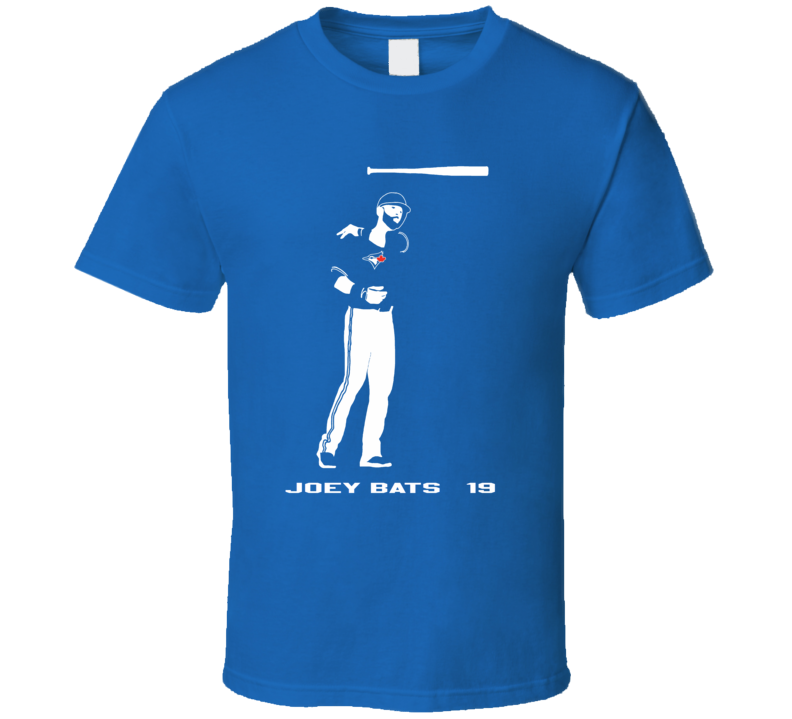 Jose Bautista bat toss t shirt awesome Jays fan wear Joey Bats 19 ALCS baseball