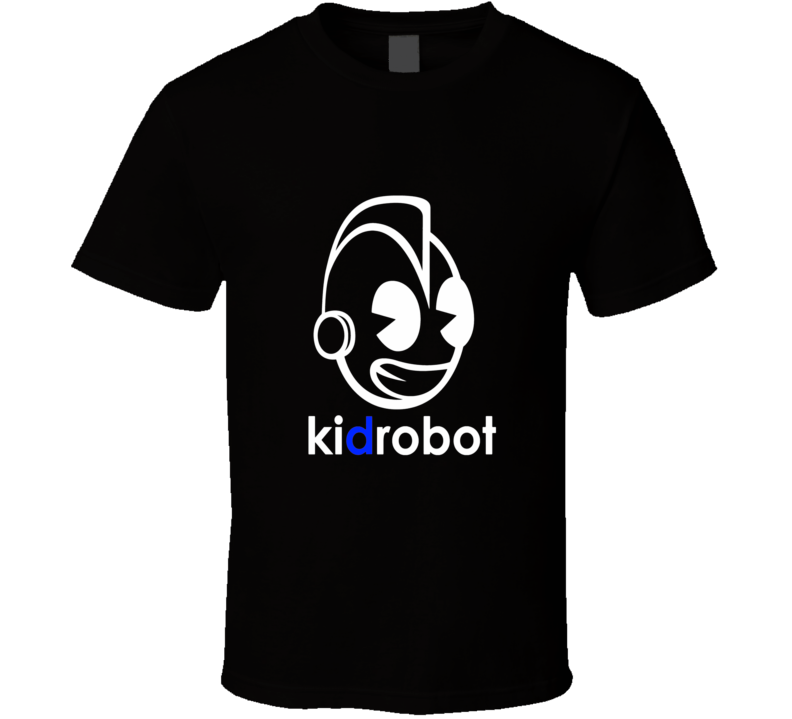 Kidrobot logo t shirt toys games kids essentials anime cartoon comic shirts
