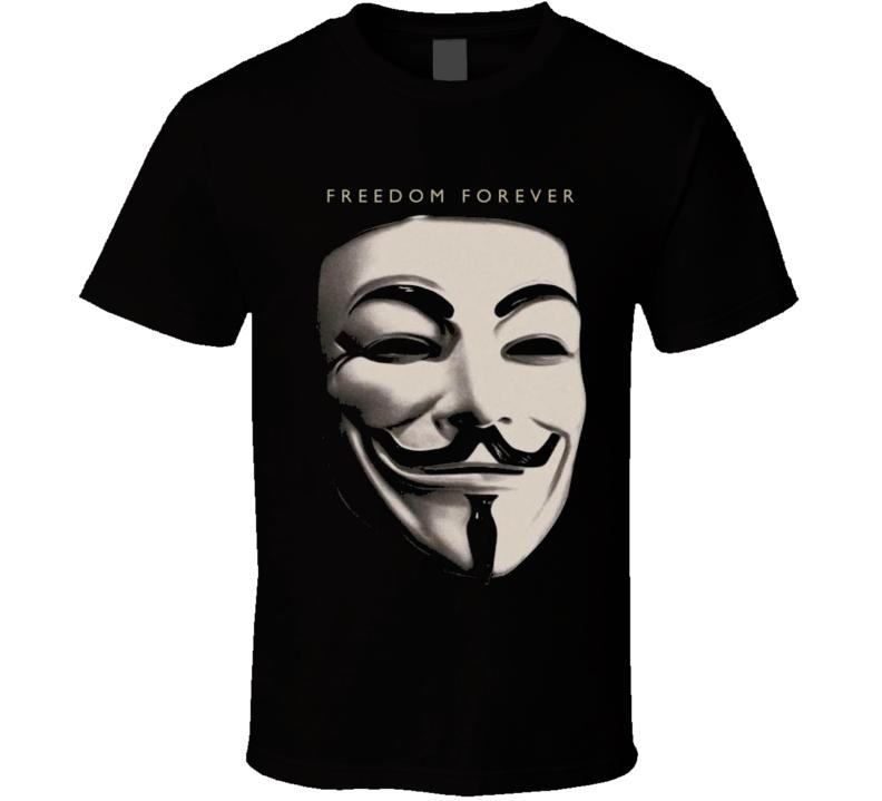 V for Vendetta Freedom Forever Resist Rebel Anarchy