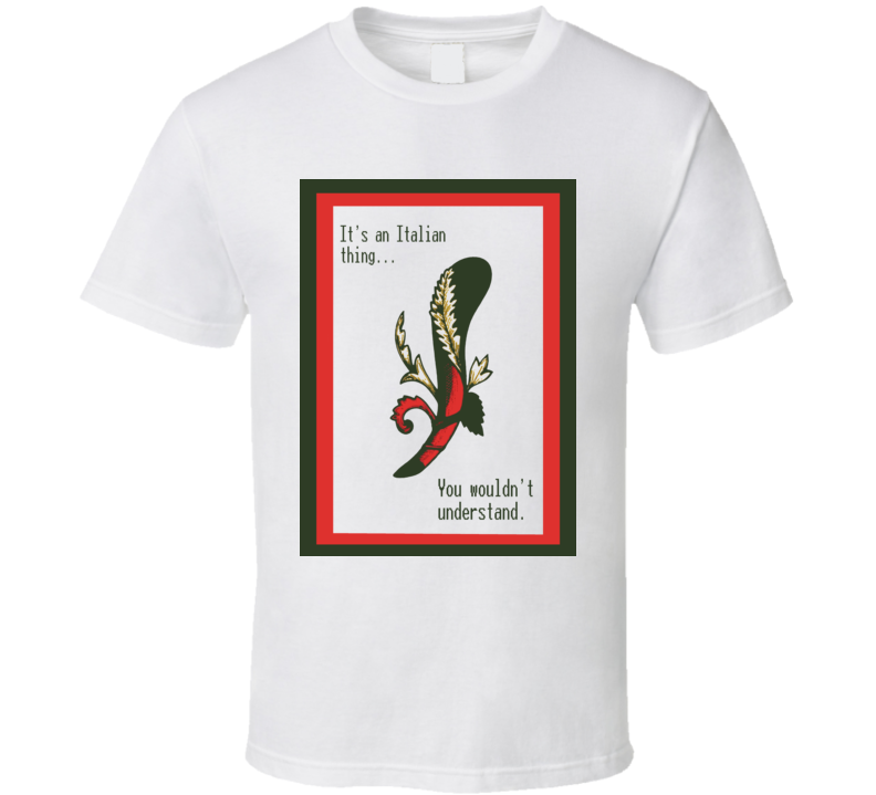 Ace of Bastone Italian Playing Cards t-shirt An Italian Thing you would not understand Italian Heritage pride t-shirts