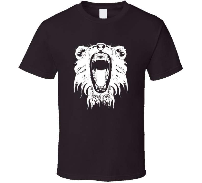 Roaring Lion t-shirt Wild Life shirts King of the Jungle Animal Kingdom t shirts