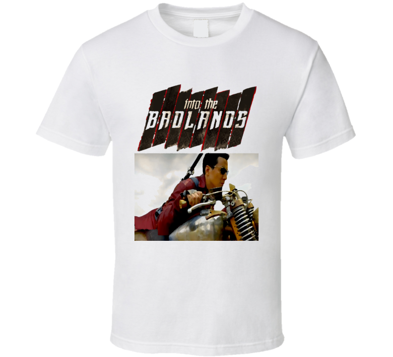 Into the Badlands Danial Wu Martial Arts Action TV series poster style t-shirt