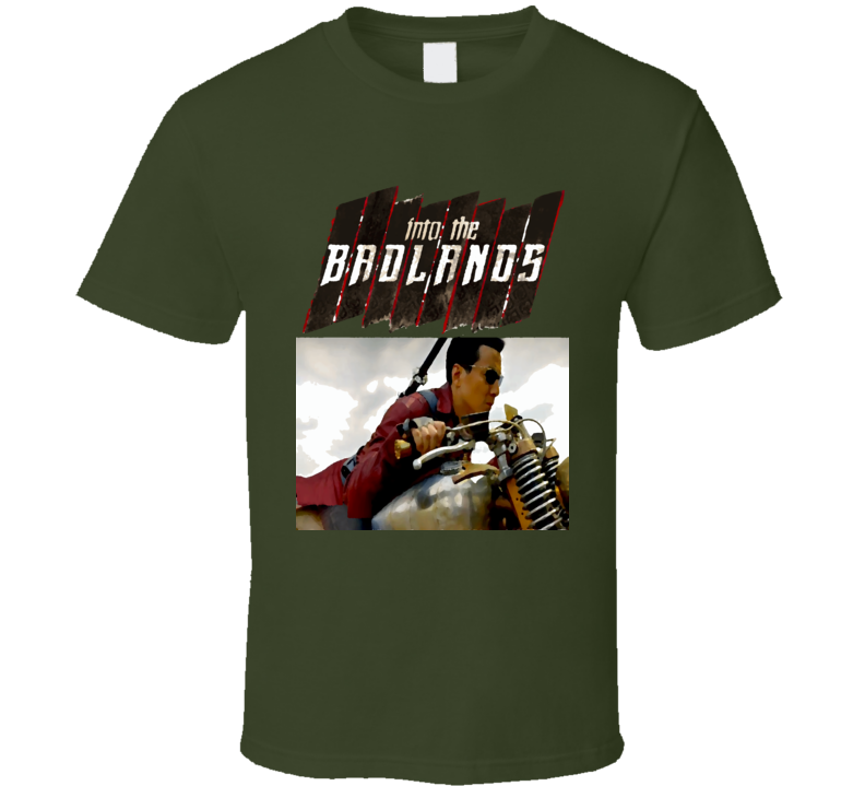Into the Badlands Danial Wu Martial Arts Action TV series poster style t-shirt color shirts