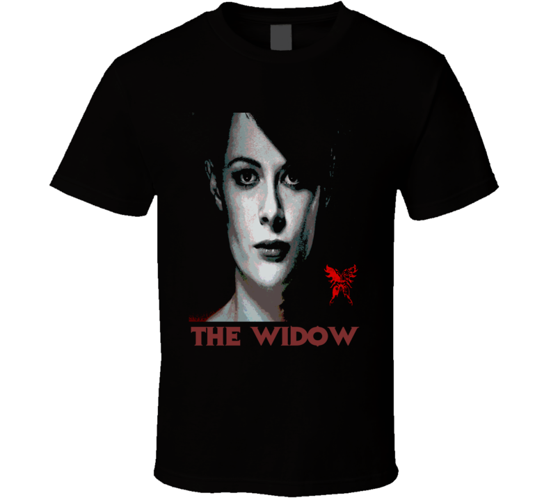 The Widow t-shirt Into the Badlands Baroness Oil Baron Martial Arts Action Series t-shirt
