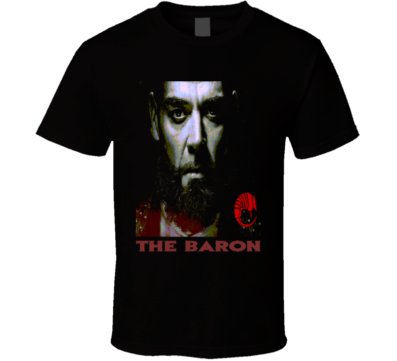 The Baron Quinn Into the Badlands Poppy Baron poster style t-shirt Martial Arts TV t shirts all colors