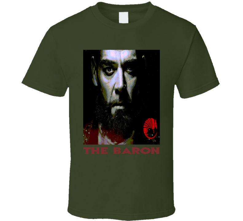 The Baron  Into the Badlands Poppy Baron poster style t-shirt Martial Arts TV t shirts