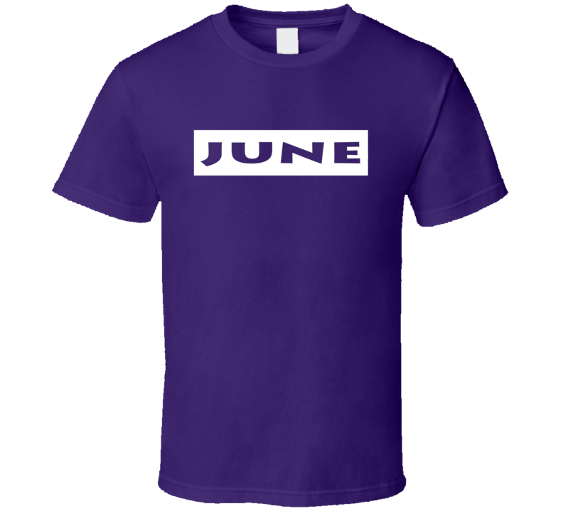 June t-shirt Birthday Anniversary Special Day Memory shirts Zodiac Lucky Month shirts