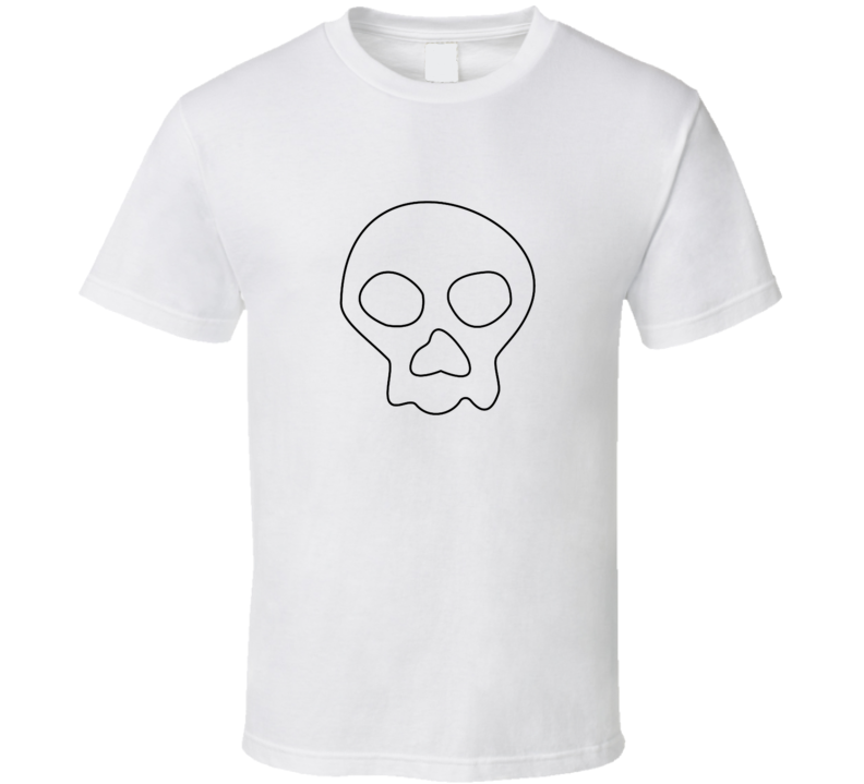 Jimbo Jones Skull t-shirt The Simpson Charcater worn TV shirts funny tv comedy cartoon t-shirts 2