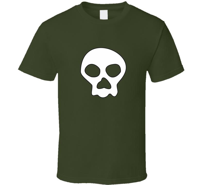 Jimbo Jones Skull t-shirt The Simpson Charcater worn TV shirts funny tv comedy cartoon t-shirts 3