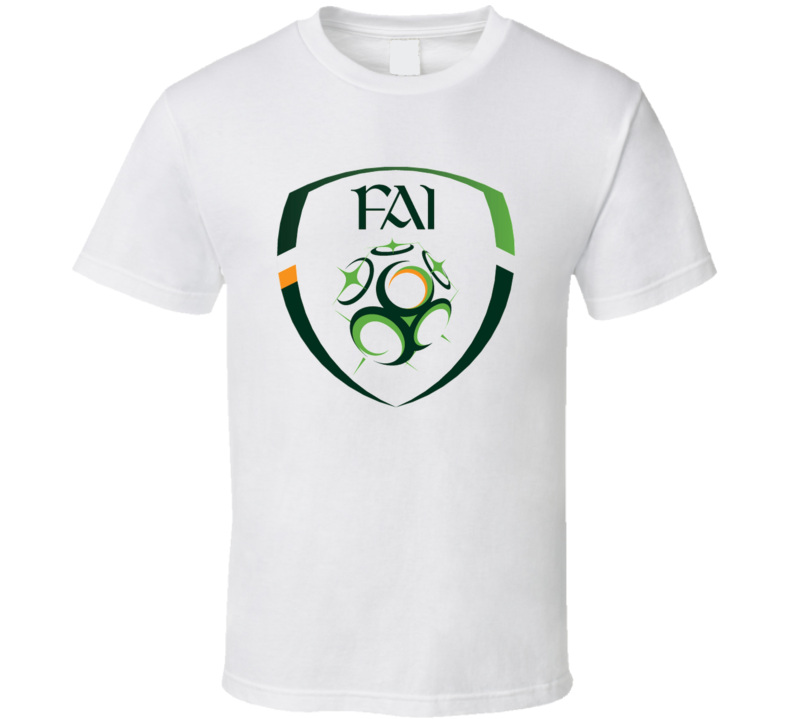 Irelan Soccer Crest t-shirt Irelan World Cup FIFA fan t-shirts