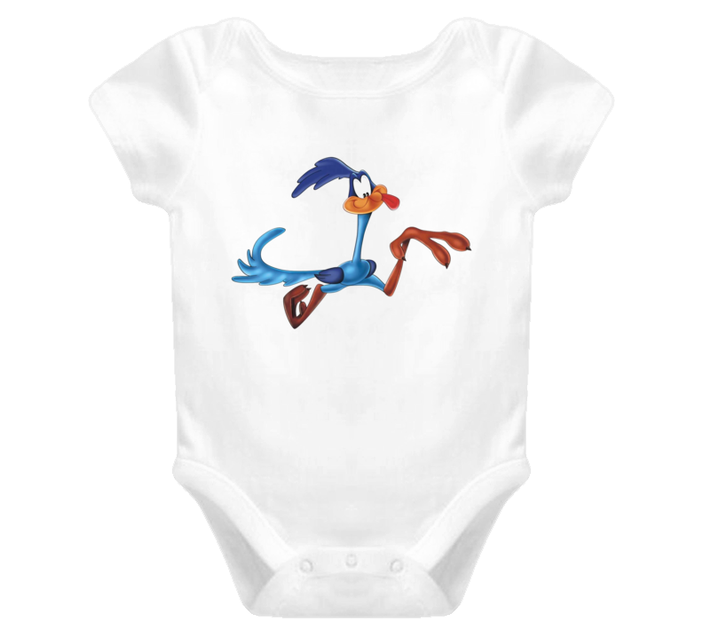 The Road Runner baby one piece t-shirt Looney Tunes retro onesy