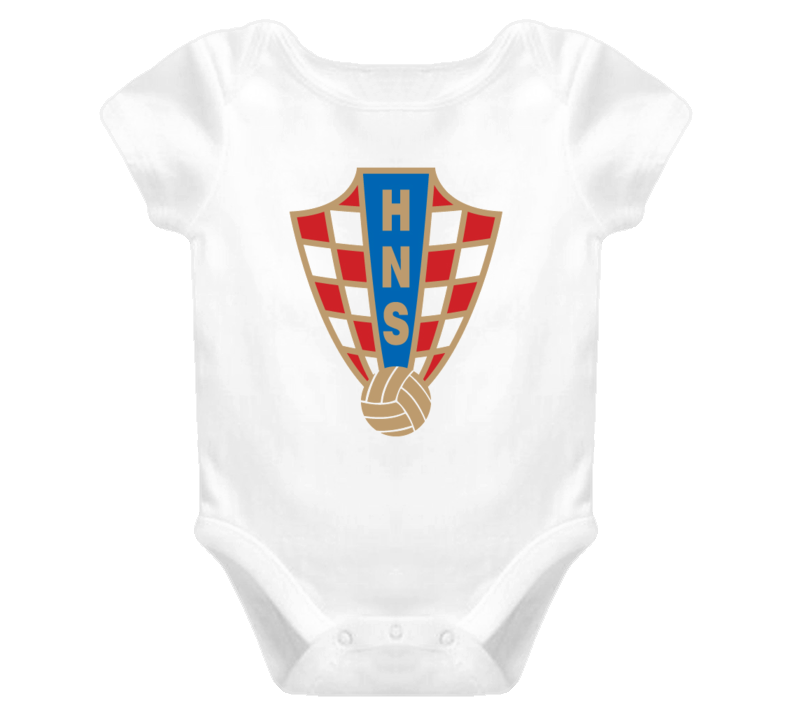 World Cup Croatia baby one piece t-shirt