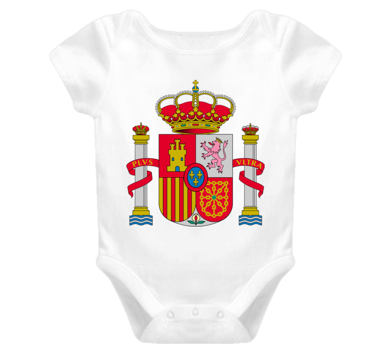 World Cup FIFA 2014 Spain baby one piece t-shirt
