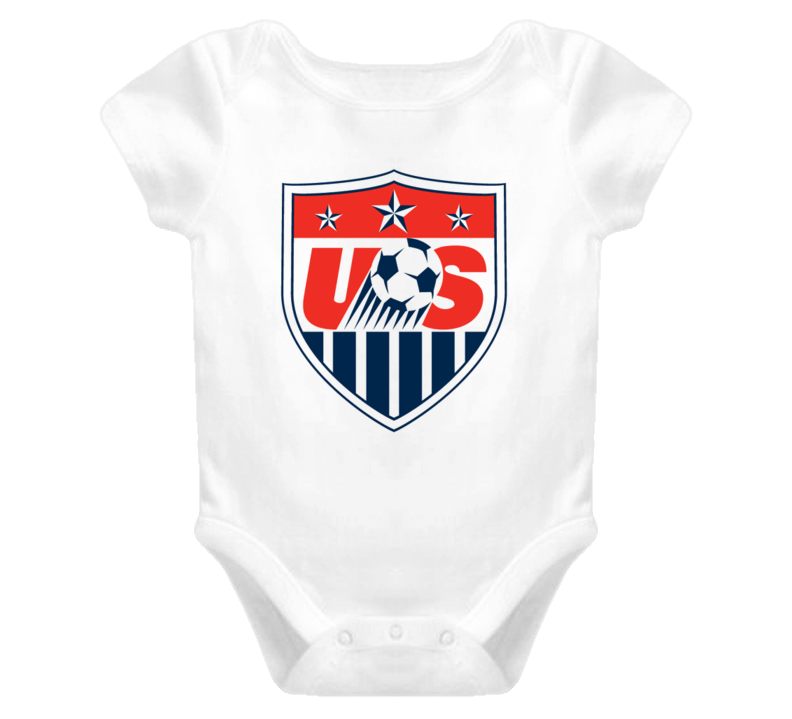 World Cup Soccer USA baby one piece t-shirt