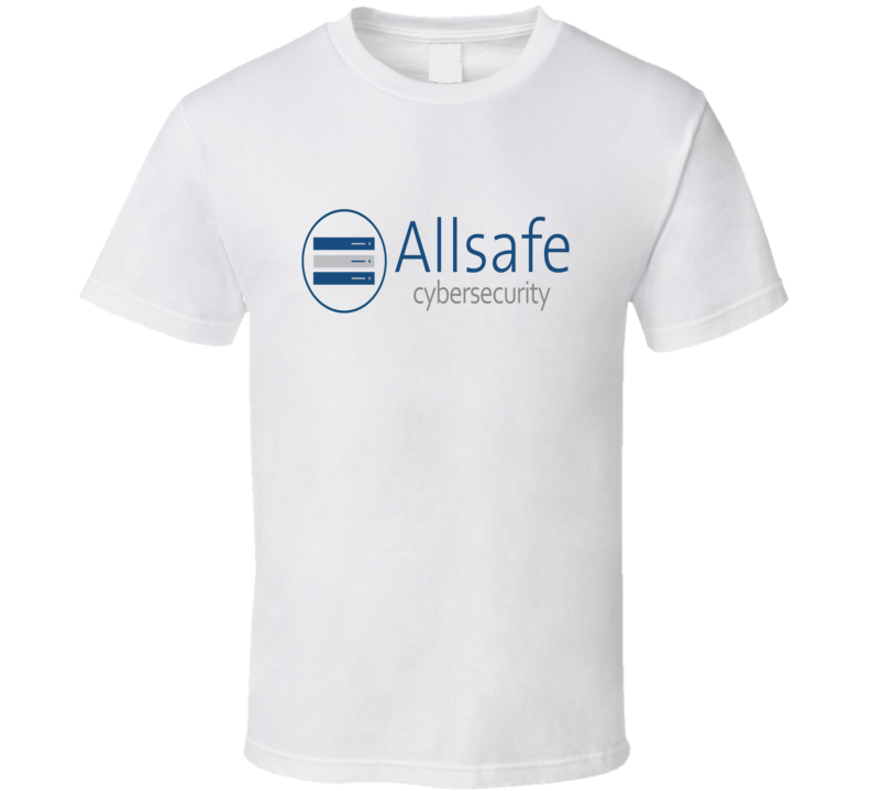 Mr. Robot Allsafe Logo t-shirt hit tv show Cyber security trending tv shirts