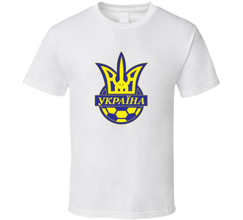 Ukraine Football soccer t-shirt Futbol T Shirt