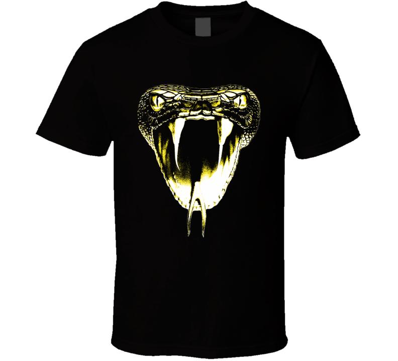 Snake Haad t-shirt Viper Cobra Momba fangs huge image ooh scary biker shirts