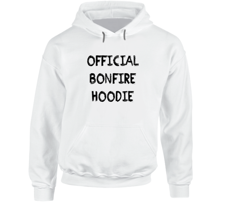 Official Bonfire Hoodie camping vacation summer camp treking t-shirt hoodie