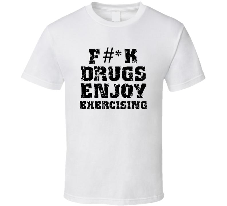 Fk Drugs Enjoy Fishing Hobbies T Shirt