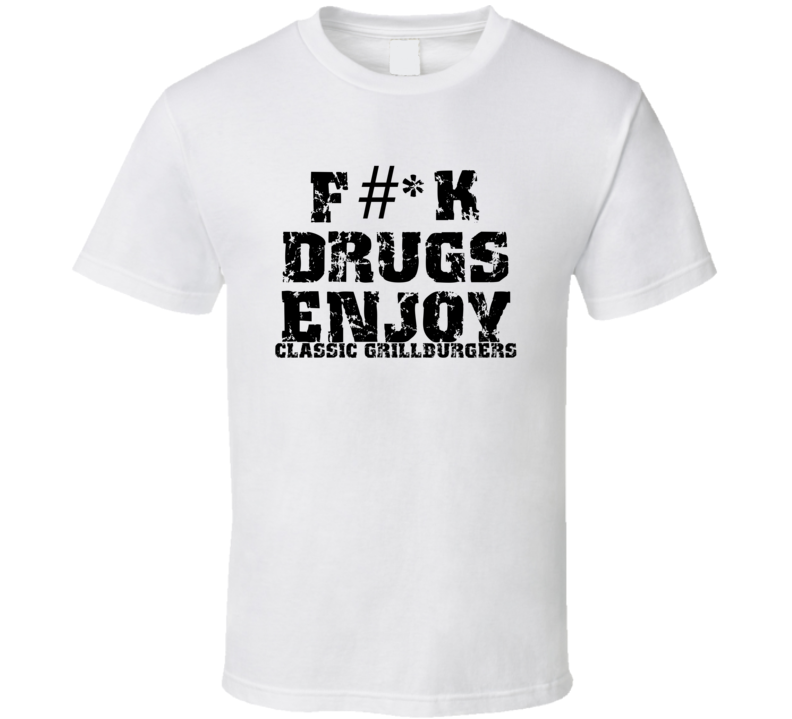 Fk Drugs Enjoy Fishing Hobbies T Shirt