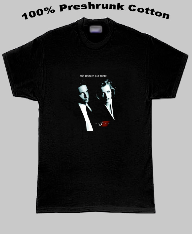 The Xfiles Muldor And Scully T Shirt